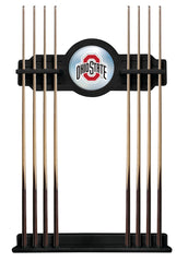 Ohio State University Cue Rack with Black Finish