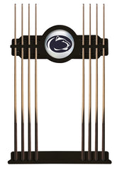 Penn State University Cue Rack with Black Finish