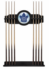 Toronto Maple Leafs Cue Rack with Black Finish