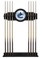 Vancouver Canucks Cue Rack with Black Finish