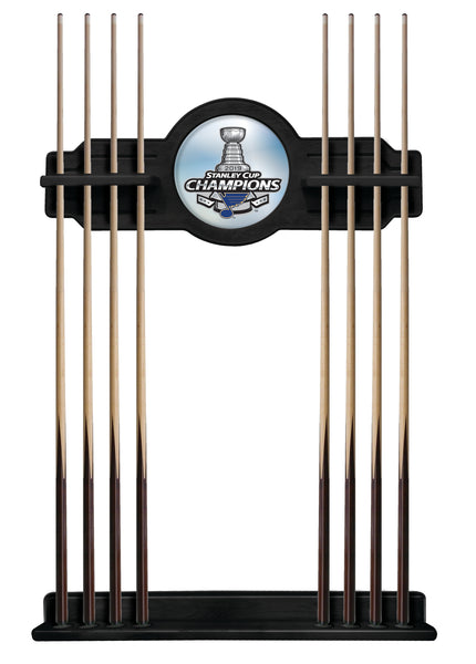 St. Louis Blues Stanley Cup Cue Rack