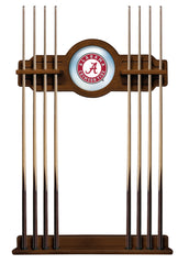 University of Alabama A Script Cue Rack with Chardonnay Finish