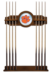 Clemson University Cue Rack with Chardonnay Finish