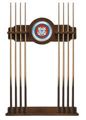 United States Coast Guard Cue Rack with Chardonnay Finish