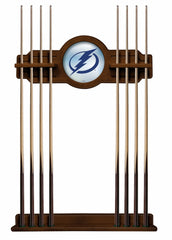 Tampa Bay Lightning Cue Rack with Chardonnay Finish