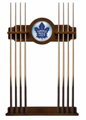 Toronto Maple Leafs Cue Rack with Chardonnay Finish