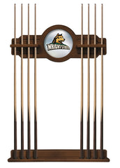 Wright State University Cue Rack with Chardonnay Finish