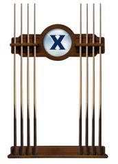 Xavier University Cue Rack with Chardonnay Finish