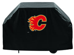 Calgary Flames Grill Cover