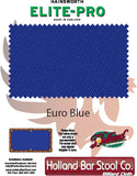 Elite-Pro Euro Blue Non-Logo Billiard Cloth