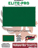 Elite-Pro Tournament Green Non-Logo Billiard Cloth