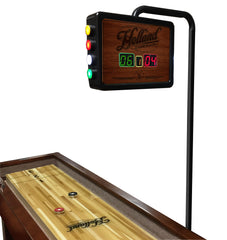 Non-Logo Navajo Shuffleboard Scoring Unit on Table