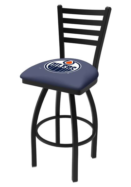 Edmonton Oilers L014 Bar Stool | NHL Oilers Counter Stool
