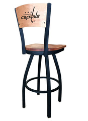Washington Capitals L038 Laser Engraved Bar Stool by Holland Bar Stool