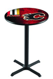 L211 NHL Calgary Flames Pub Table