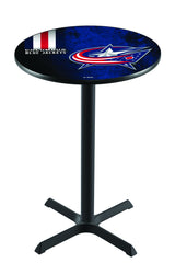 L211 NHL Columbus Blue Jackets Pub Table