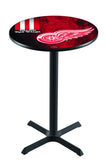 L211 NHL Detroit Red Wings Pub Table