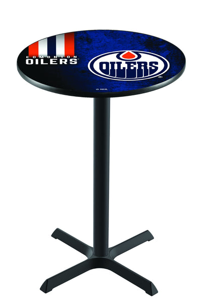 L211 NHL Edmonton Oilers Pub Table