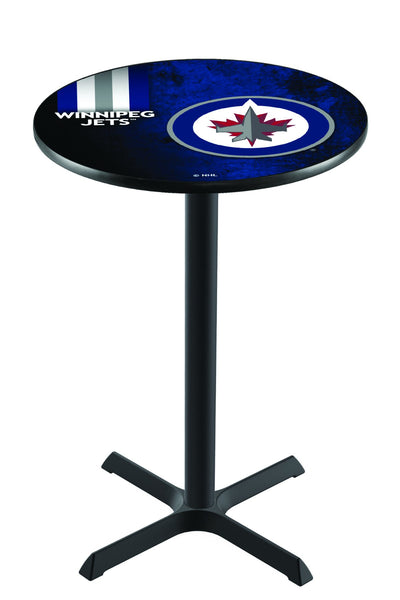 L211 NHL Winnipeg Jets Leafs Pub Table