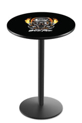 L214 Black Wrinkle NHRA This is My Game Face Mask Pub Table