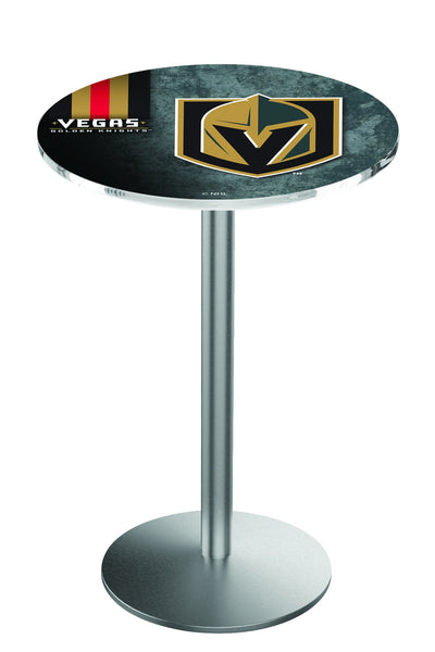 L214 Stainless Las Vegas Golden Knights Pub Table