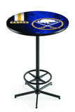 L216 Black Wrinkle Buffalo Sabres Pub Table