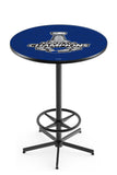 L216 Black Wrinkle St. Louis Blues Stanley Cup Pub Table