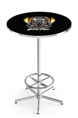 L216 Chrome NHRA This is my Game Face Mask Pub Table