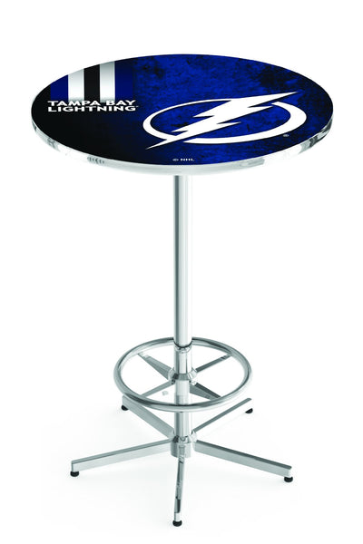 L216 Chrome Tampa Bay Lightning Pub Table