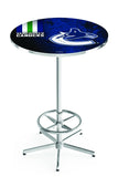 L216 Chrome Vancouver Canucks Pub Table