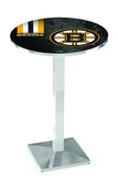 L217 Chrome Boston Bruins Pub Table