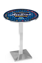 L217 Chrome All Star Game Pub Table