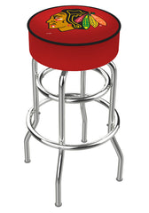 Chicago Blackhawks L7C1 Bar Stool | Chicago Blackhawks L7C1 Counter Stool
