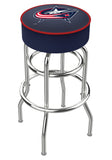 Columbus Blue Jackets L7C1 Bar Stool | Columbus Blue Jackets L7C1 Counter Stool