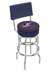 Colorado Blue Jackets L7C4 Bar Stool