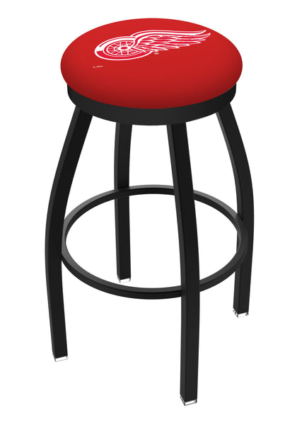 Detroit Red Wings Jackets L8B2B Backless Bar Stool | Detroit Red Wings Backless Counter Bar Stool
