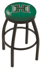 Hawaii Rainbow Warriors L8B2B Backless Bar Stool | Hawaii Rainbow Warriors Counter Stool