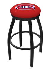 Montreal Canadians L8B2B Backless Bar Stool | Montreal Canadians Backless Counter Bar Stool