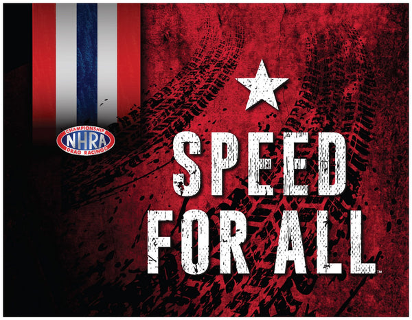 "24"" X 32"" NHRA Speed for All Series 3 Canvas"