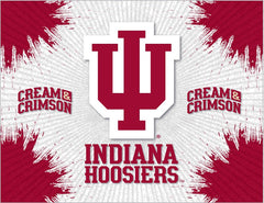 Indiana Hoosiers Logo Wall Decor Canvas