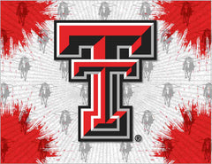 Texas Tech Red Raiders Logo Wall Decor Canvas