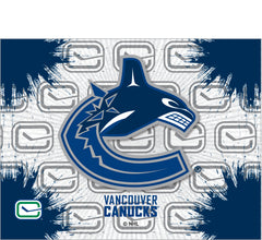 Vancouver Canucks Logo Canvas