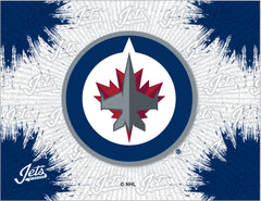 Winnipeg Jets Logo Canvas