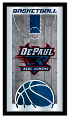 DePaul Blue Demons Basketball Mirror by Holland Bar Stool Company