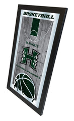 Hawaii Rainbow Warriors Basketball Mirror