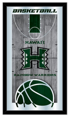 Hawaii Rainbow Warriors Basketball Mirror by Holland Bar Stool Company