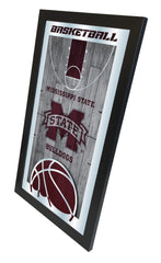 Mississippi State University Bulldogs Basketball Mirror
