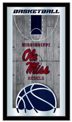 Ole Miss Rebels Basketball Mirror by Holland Bar Stool Company
