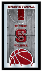 NC State Wolfpack Basketball Mirror by Holland Bar Stool Company