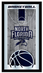 North Florida Ospreys Basketball Mirror by Holland Bar Stool Company